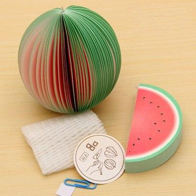 """FRUITY"" STICKY NOTES"