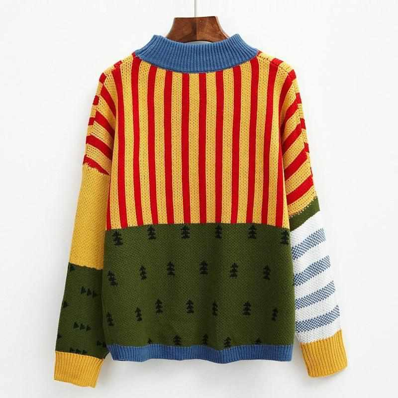 """Christmas Tree"" Sweater - Kawaii Nation"