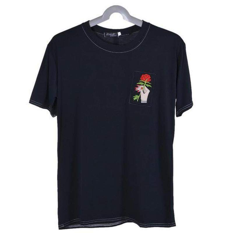 """Cherished Rose"" T-Shirt - Kawaii Nation"