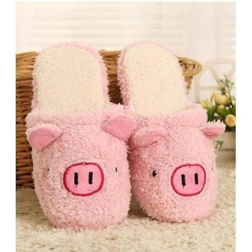 """Piggy"" Slippers - Kawaii Nation"