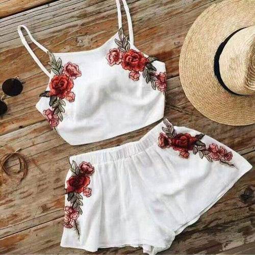 """Floweristic"" Two Piece Set"