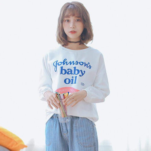 """Johnson's Baby Oil"" Sweater"