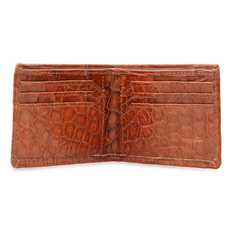 Full Alligator Bi-Fold Wallet