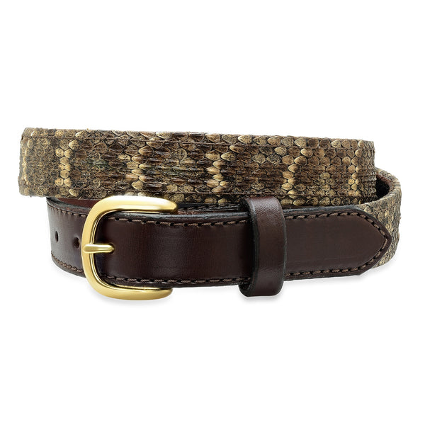 1 1/4 Diamondback Rattlesnake Belt