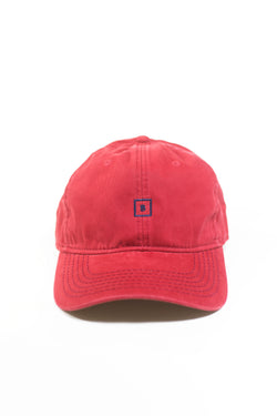 Red B&B Leather Strap Back