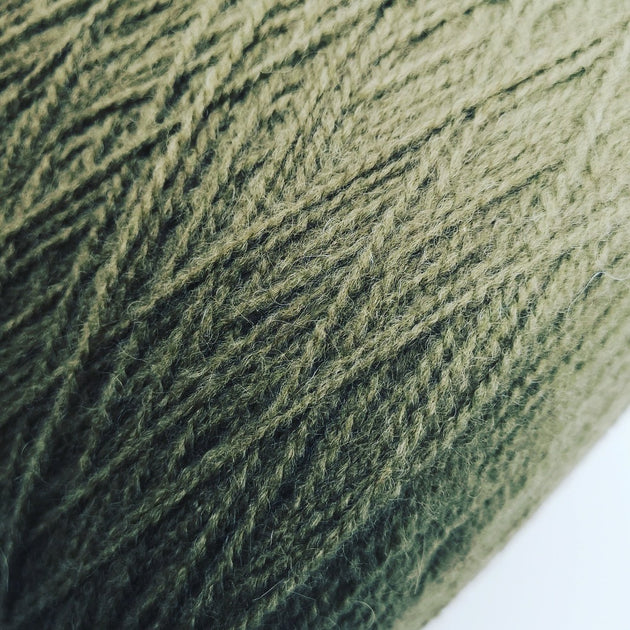 Alpaca mix wool | Haki | Aran