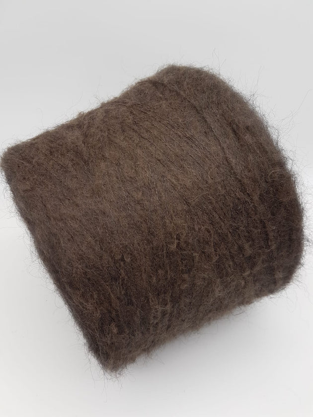 Super kid mohair | Brown | Lace