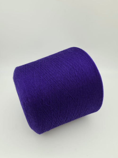 Merino and viscose mix yarn | Royal blue | Lace