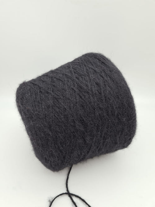 Super soft alpaca mix wool | Black | Chunky