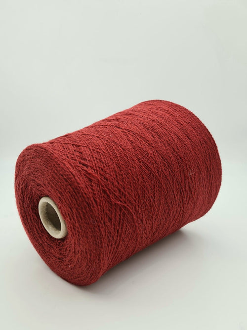 85% Cashmere, 15% Merino wool from Loro Piana | Red | Lace