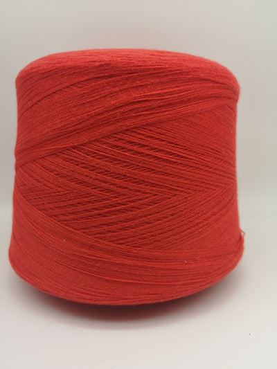 Cashmere mix wool | Summer red | Lace