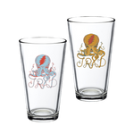 PRE-ORDER Octopus Logo Pint Glass