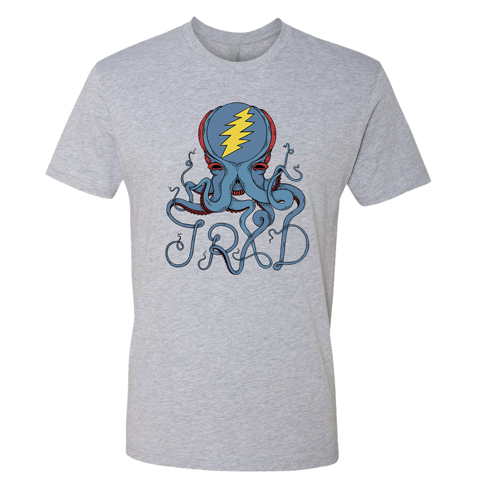 Octopus Logo Tee - Grey