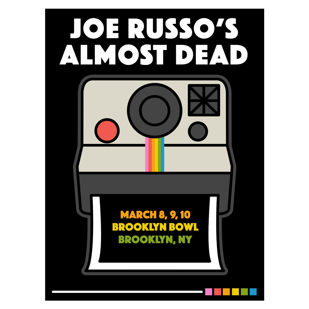 JRAD - 2018 Brooklyn Bowl Poster