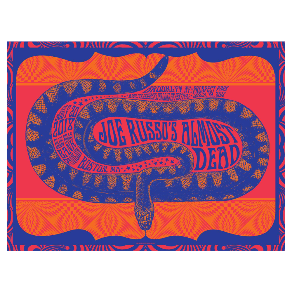 JRAD - 2018 Brooklyn / Boston Poster