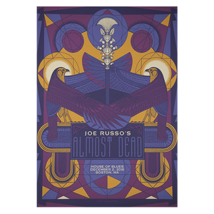JRAD - 2016 House of Blues Boston Poster
