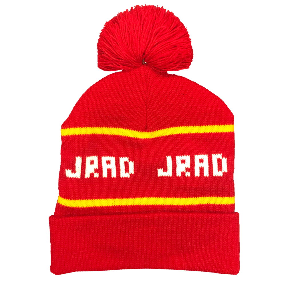 JRAD - Knit Beanie - Red