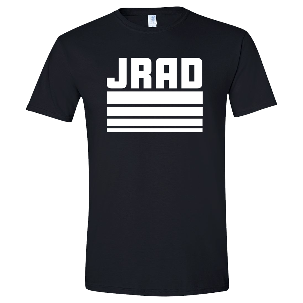 JRAD - Stripe Tee - Black