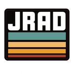 JRAD - Stripe Sticker