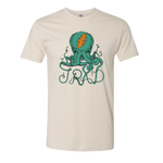 Octopus Logo Tee - Natural