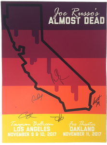 JRAD - 2017 California Poster - Signed