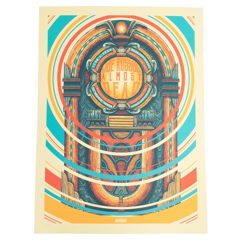JRAD - 2019 Jim Thorpe / New Haven / Montclair / Cleveland Poster