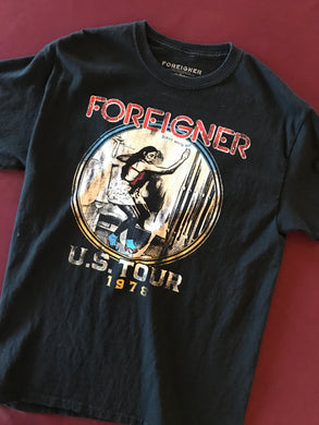 Foreigner Tee