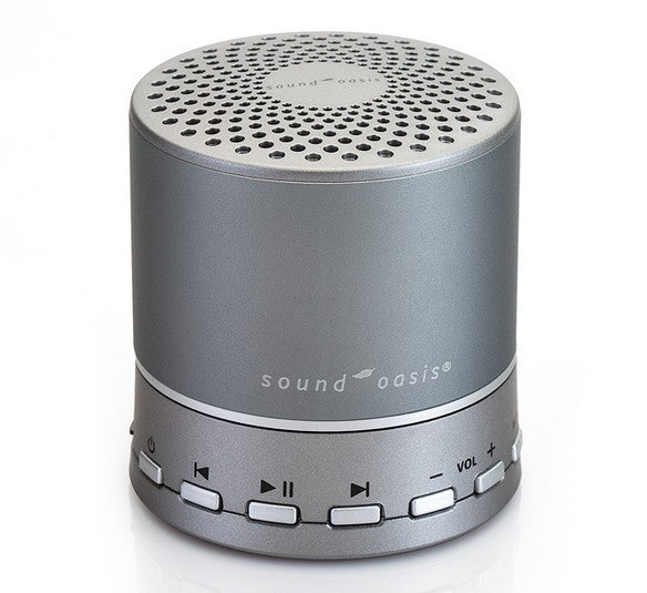 Sound Oasis 10 Exclusive Ocean Sounds Bluetooth Sleep Sound Therapy System 2 SD Sound Cards