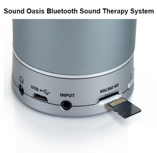 Sound Oasis 10 Exclusive Ocean Sounds Bluetooth Sleep