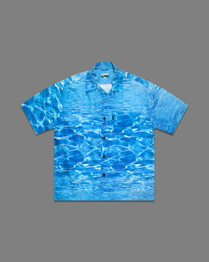1990s Swimming Pool Shirt - NOTHING SPECIAL VINTAGE DESIGNER ARCHIVE
