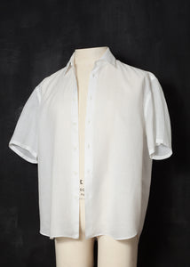 Prada Archive Linen White Shirt L/XL