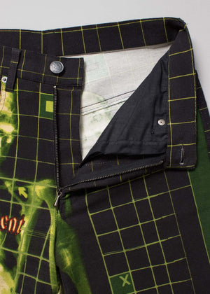 Jean Paul Gaultier 1996 x-ray print jeans - NOTHING SPECIAL VINTAGE DESIGNER ARCHIVE