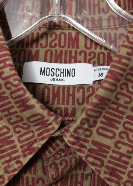 Moschino 2000s Reversed spell-out shirt
