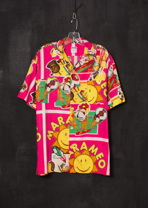 Moschino 1990s Ice Cream Print Shirt
