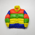 Moschino – Rainbow Goose Down Puffer Jacket / M-L