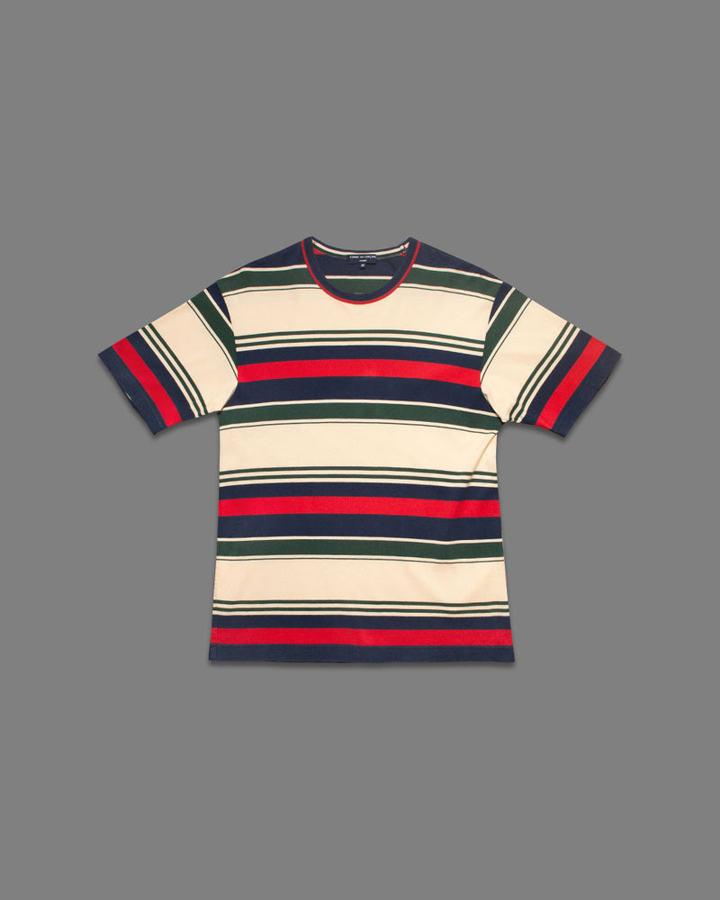 Comme des Garçons 2003 Striped T-Shirt - NOTHING SPECIAL VINTAGE DESIGNER ARCHIVE