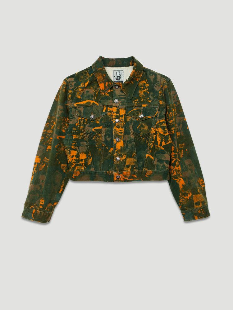 Nothing Special - Gaultier Jeans AW 1992-93 Face Print Denim Jacket