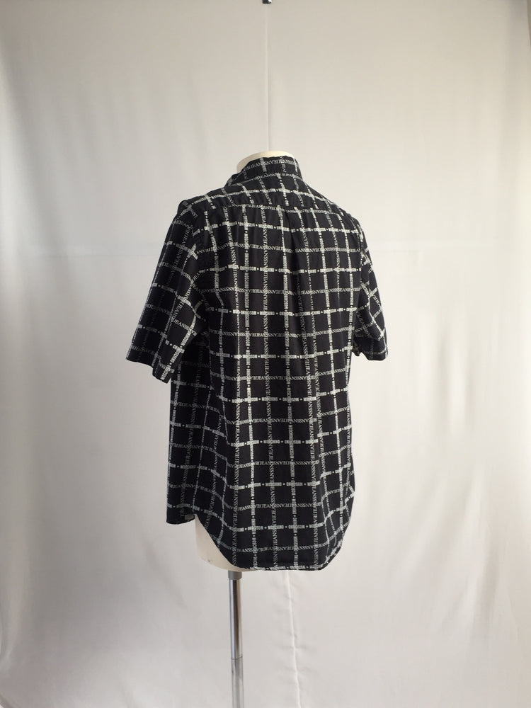 Vintage Spell-out Check Shirt - NOTHING SPECIAL VINTAGE DESIGNER ARCHIVE