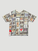 1990s T-shirt with Polaroid Print