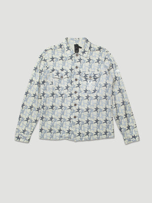 Archive Shirt with Camouflage Print