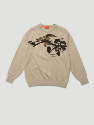 1990s Jumper with Embroidered  Road Runner