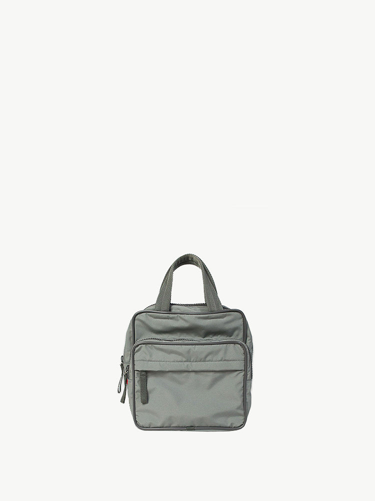 Prada Sport - 1990s Light Grey Square Mini Bag