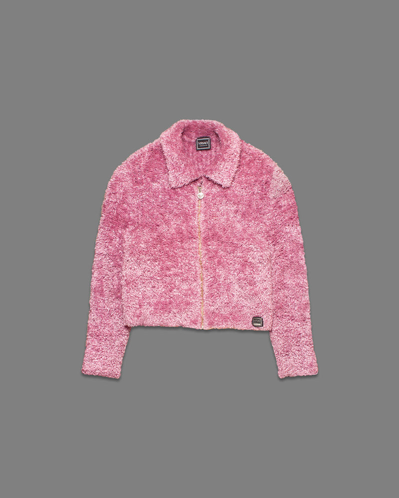 1990s Pink Fluffy Jacket