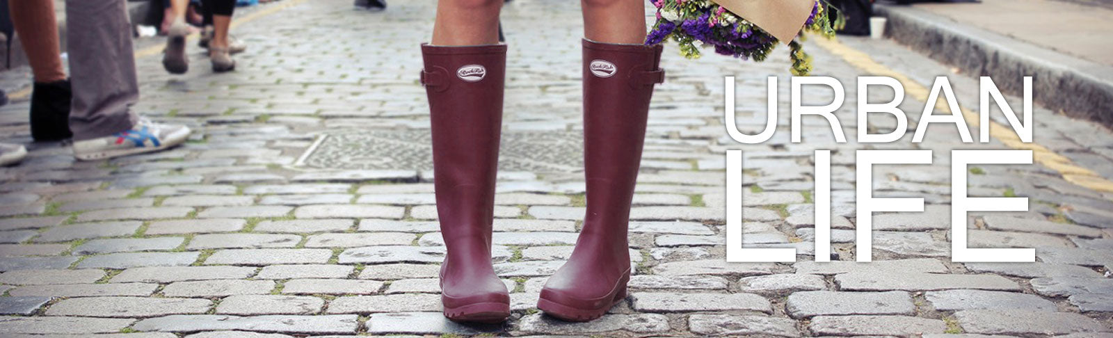 Rockfish Wellies fashion for the city