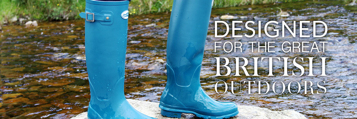Blue Wellies from Rockfish