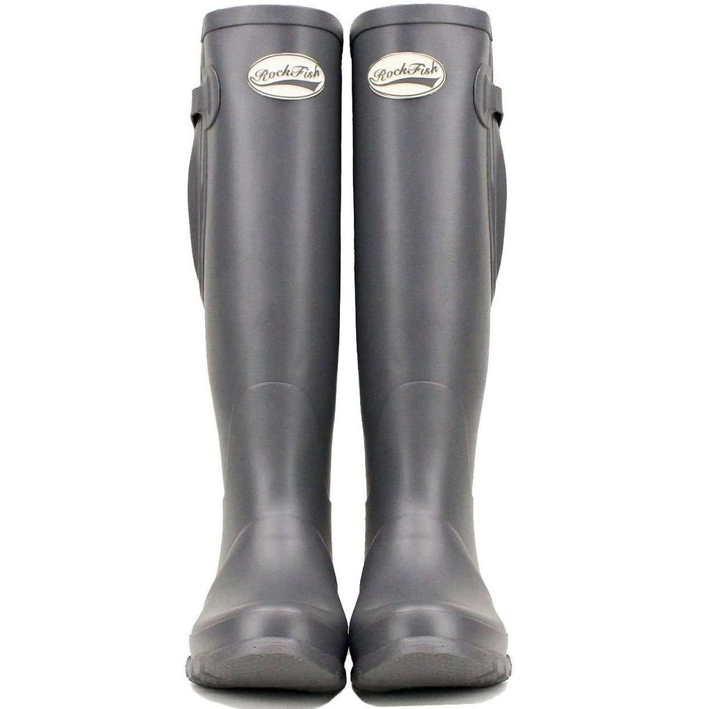 Women's Tall Adjustable Earl Grey Rockfish Wellies