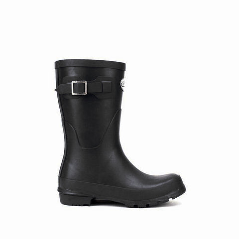 Women's Original Short Matt Black wellington boot