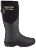 Rockfish Black Neoprene Lined Groundhog Wellington Boots