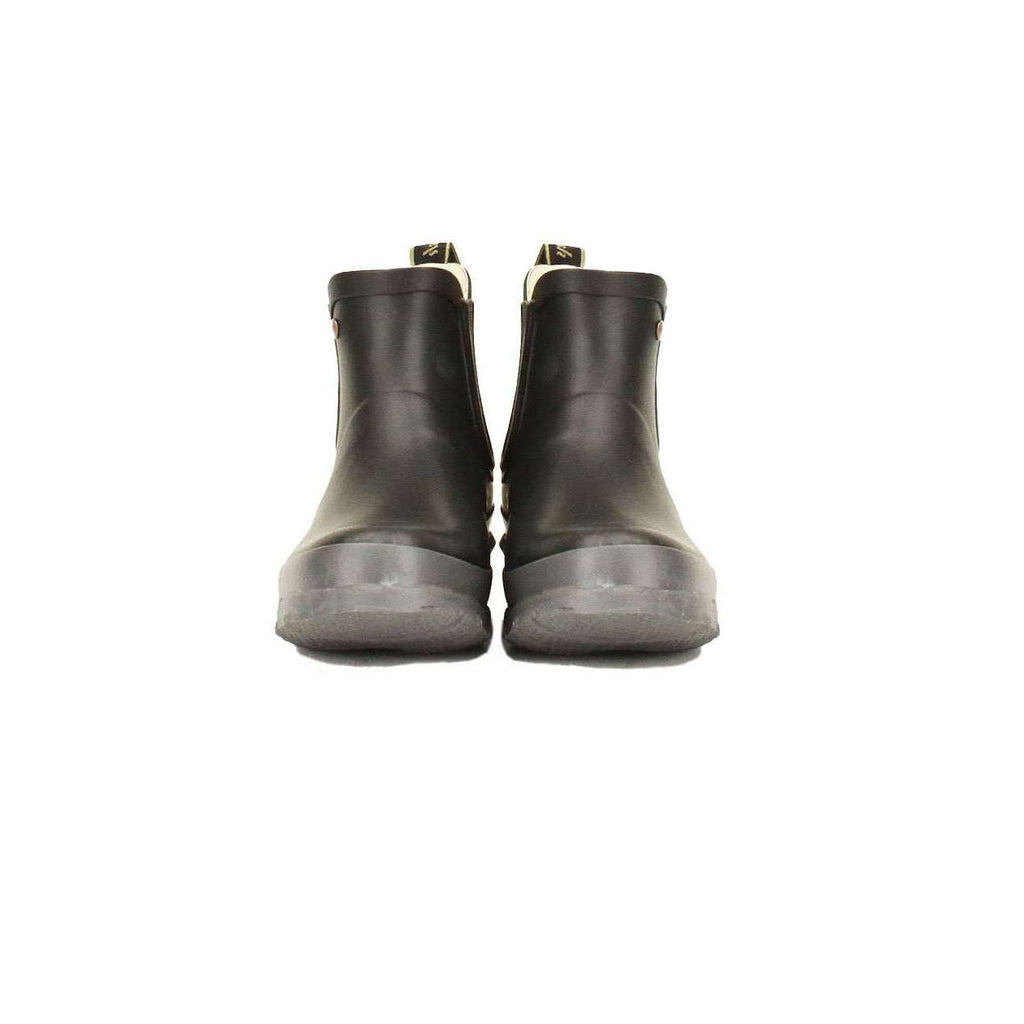 Women's Chelsea Boot Matt Black Earl Grey Wellington
