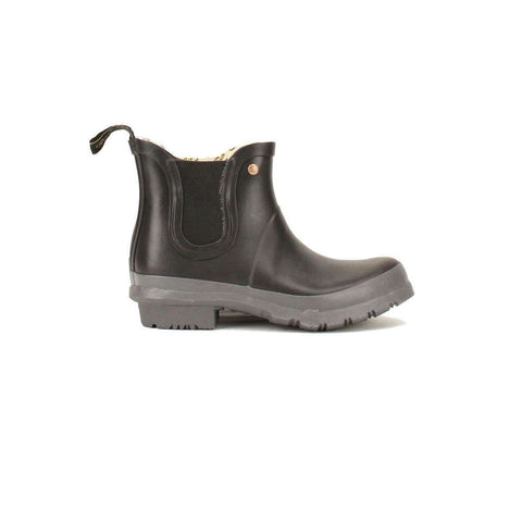 Black Rockfish Chelsea Rubber Boots